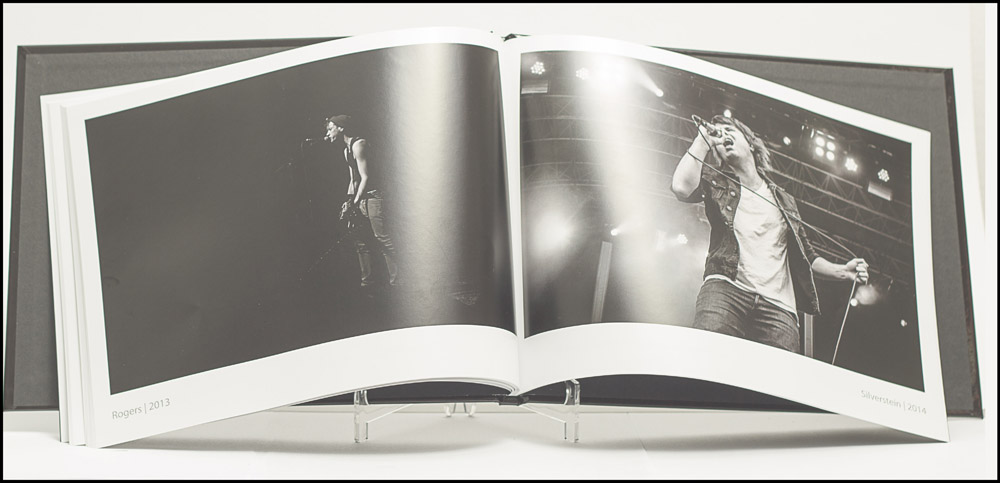 Innenseite mit Fotos von den Rogers und Silverstein